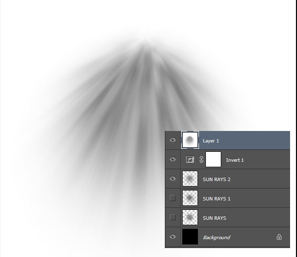 Creating Sun Rays 2 brush