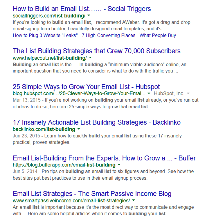 google top 6 results 1